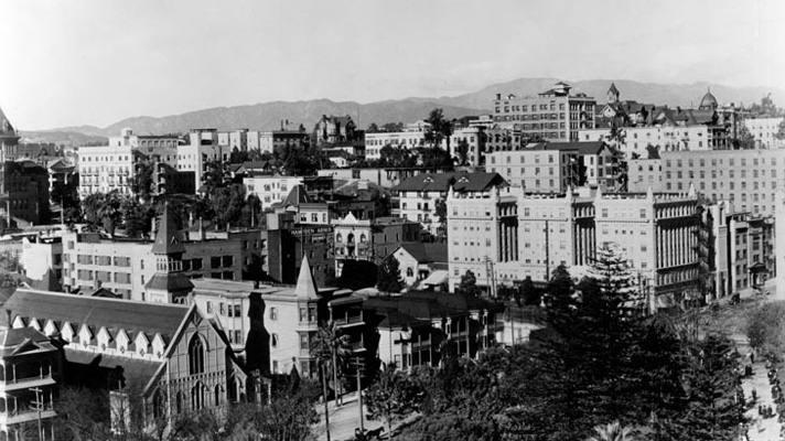 Bunker Hill en los años 1900s