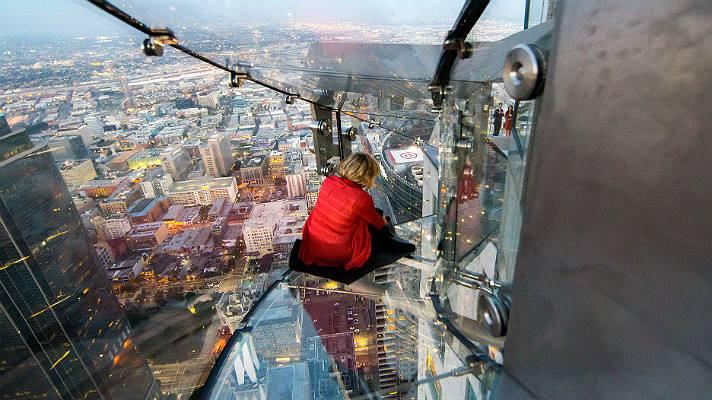 Skyslide en Skyspace Los Angeles