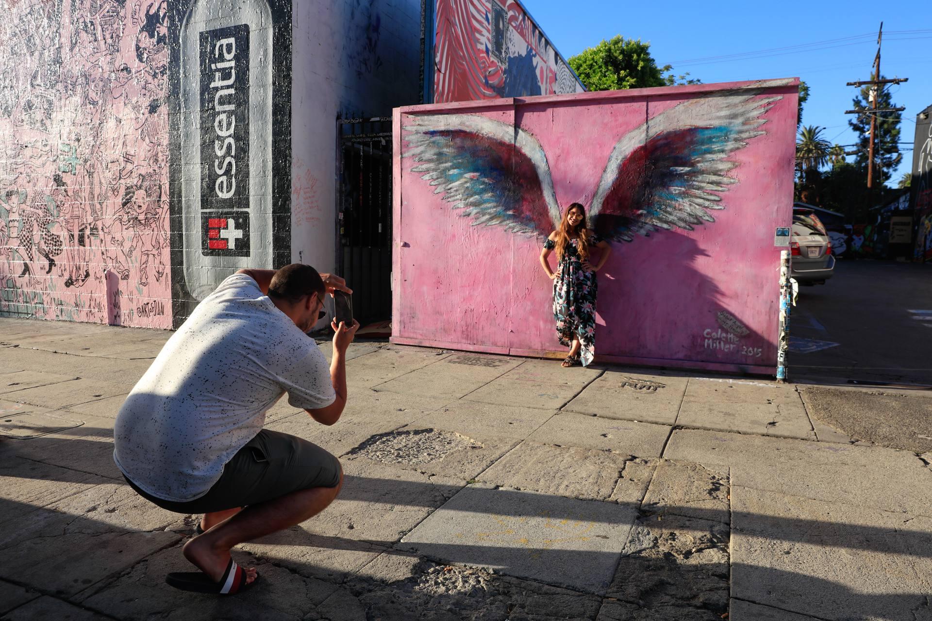 Colette Miller Angel Wings Three Flowers