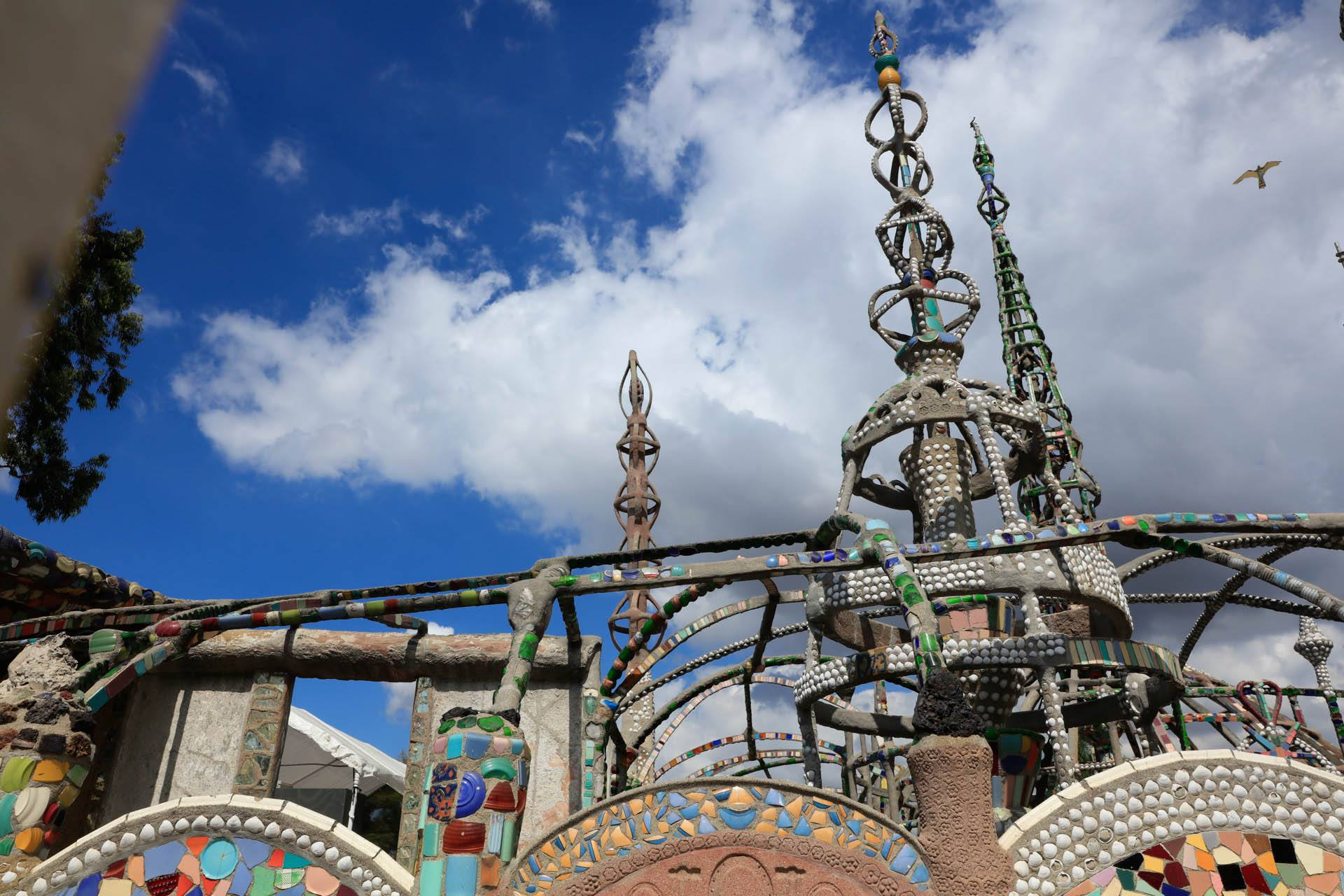 Watts Towers in South Los Angeles