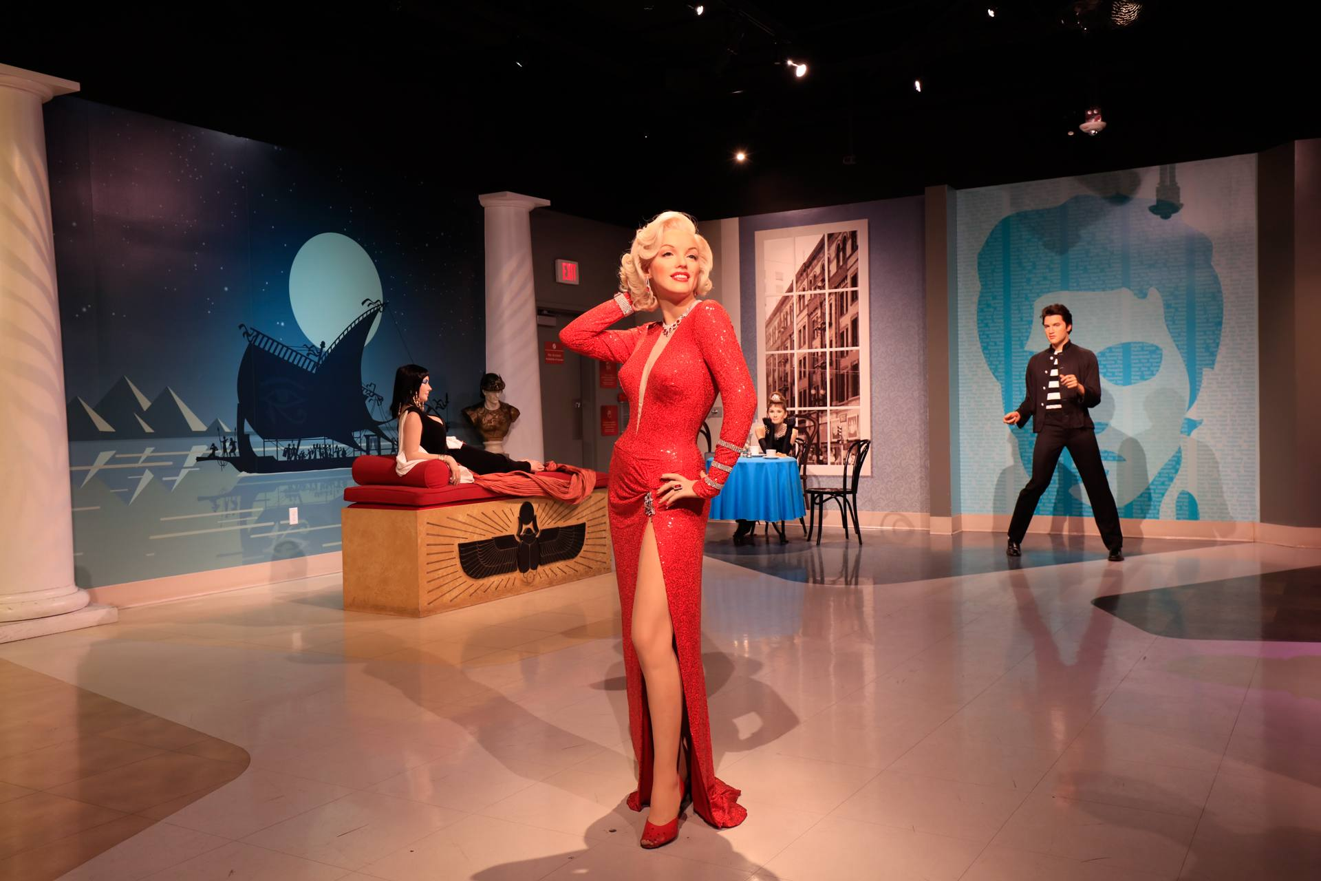 Marilyn Monroe at Madame Tussauds Hollywood