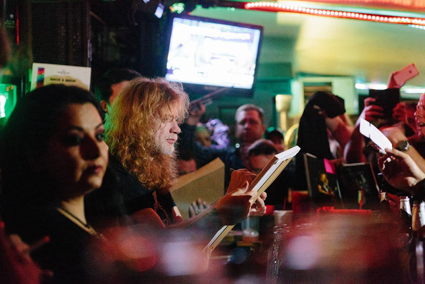 Rainbow Bar Grill Megadeth Dave Mustaine