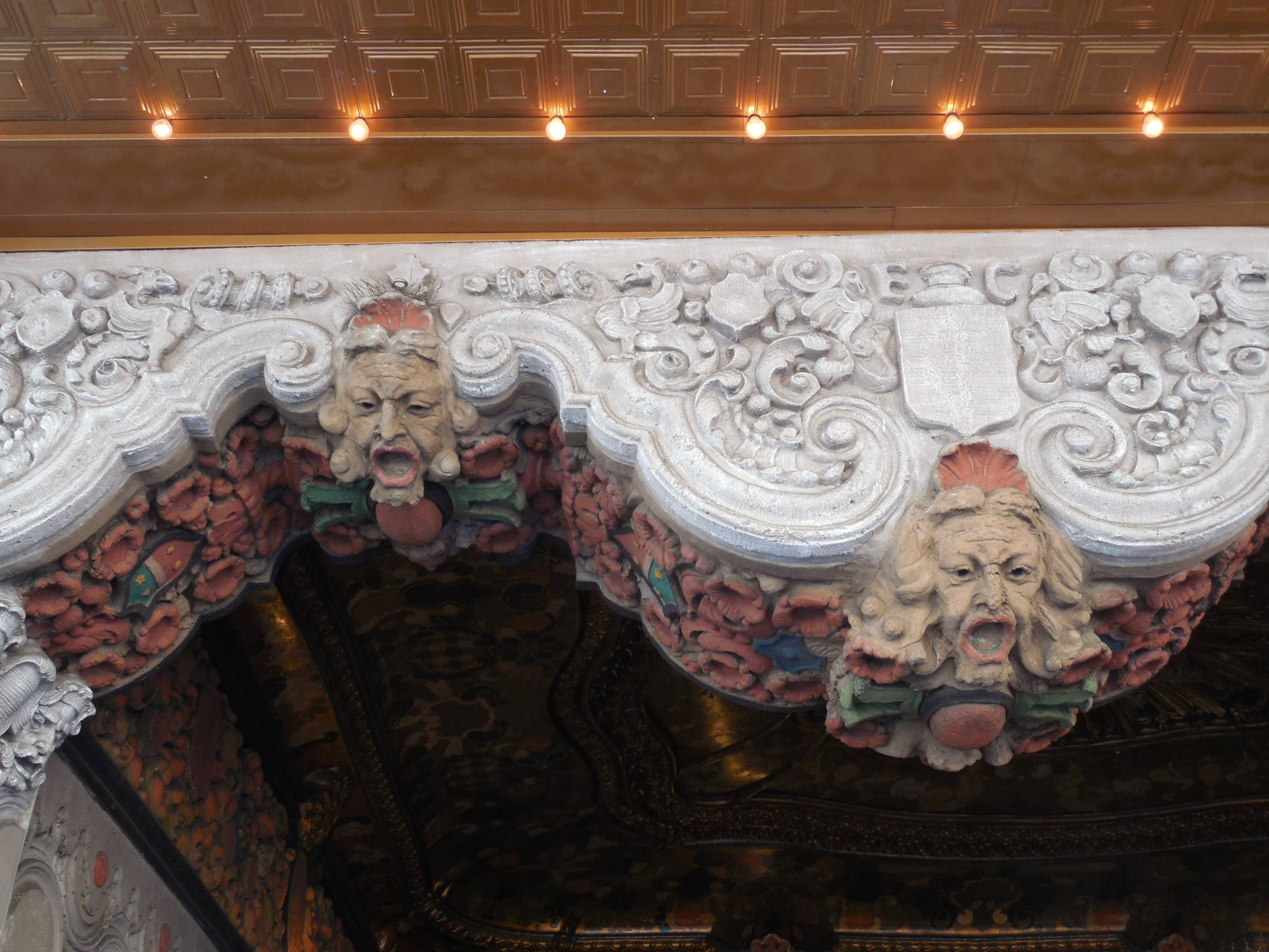 Detail from El Capitan Theatre entrance | Photo courtesy of jimmywayne, Flickr