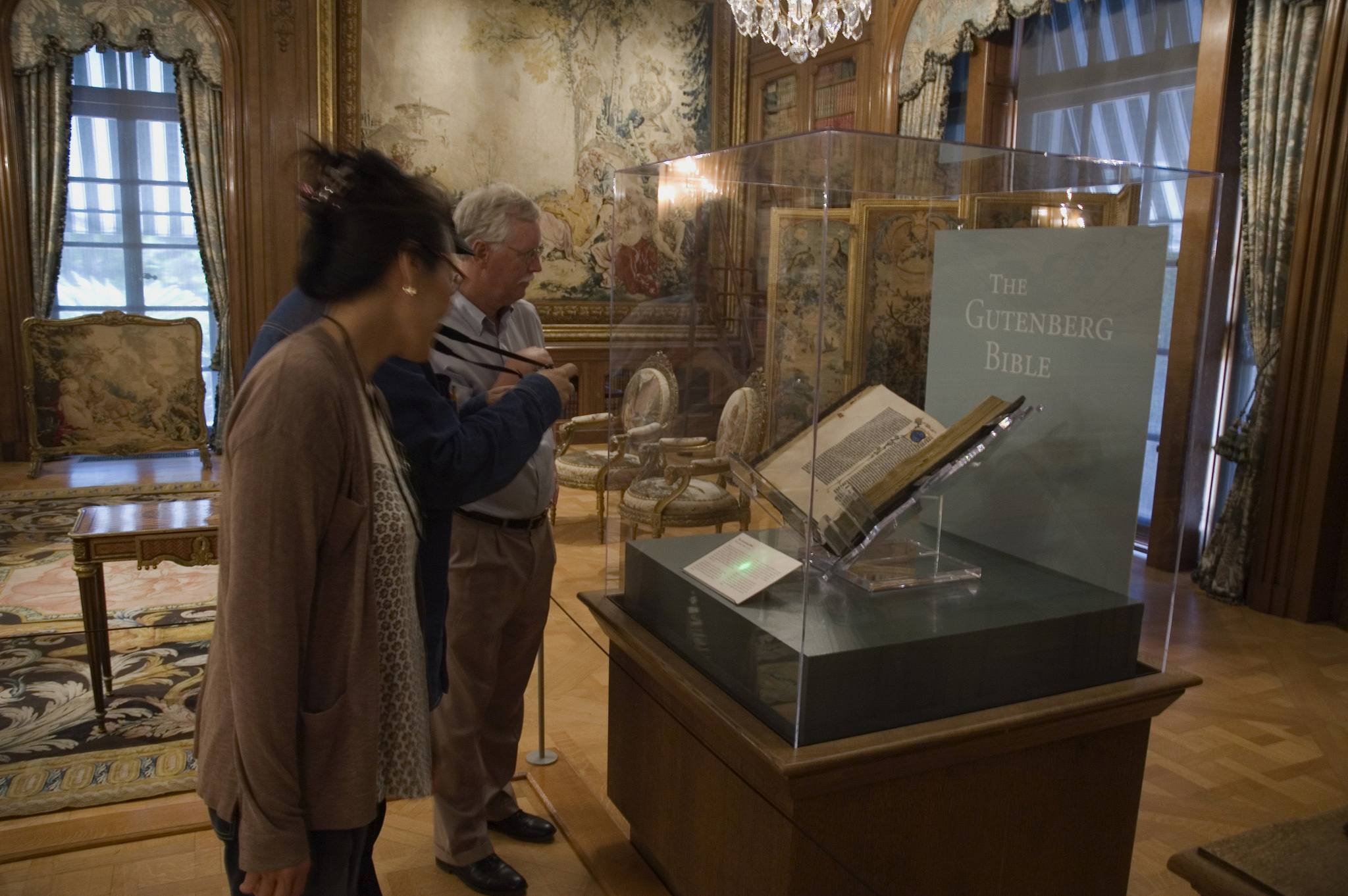Huntington Library Gutenberg Bible