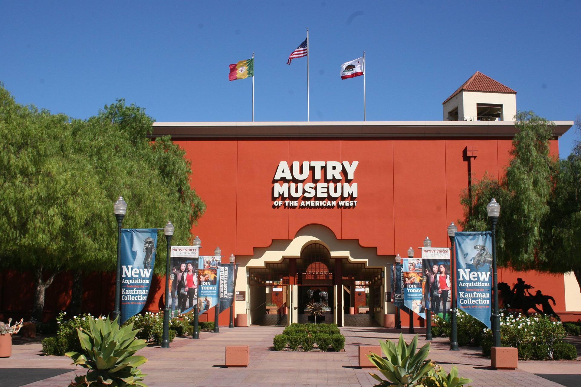 Entrance to the Autry Museum of the American West