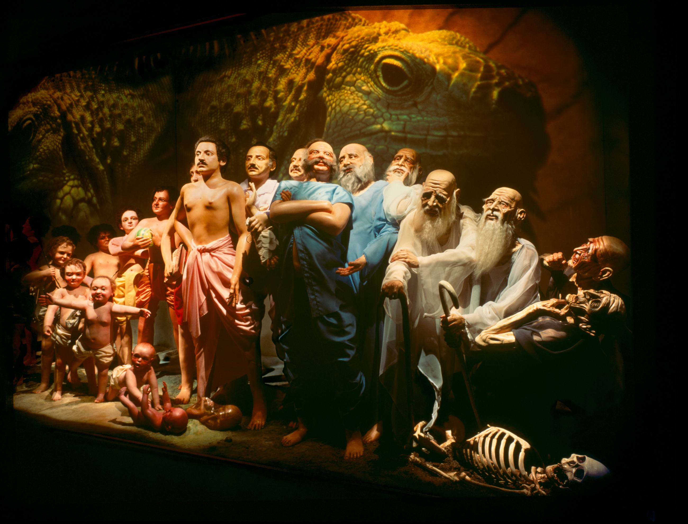 Bhagavad Gita Museum Diorama