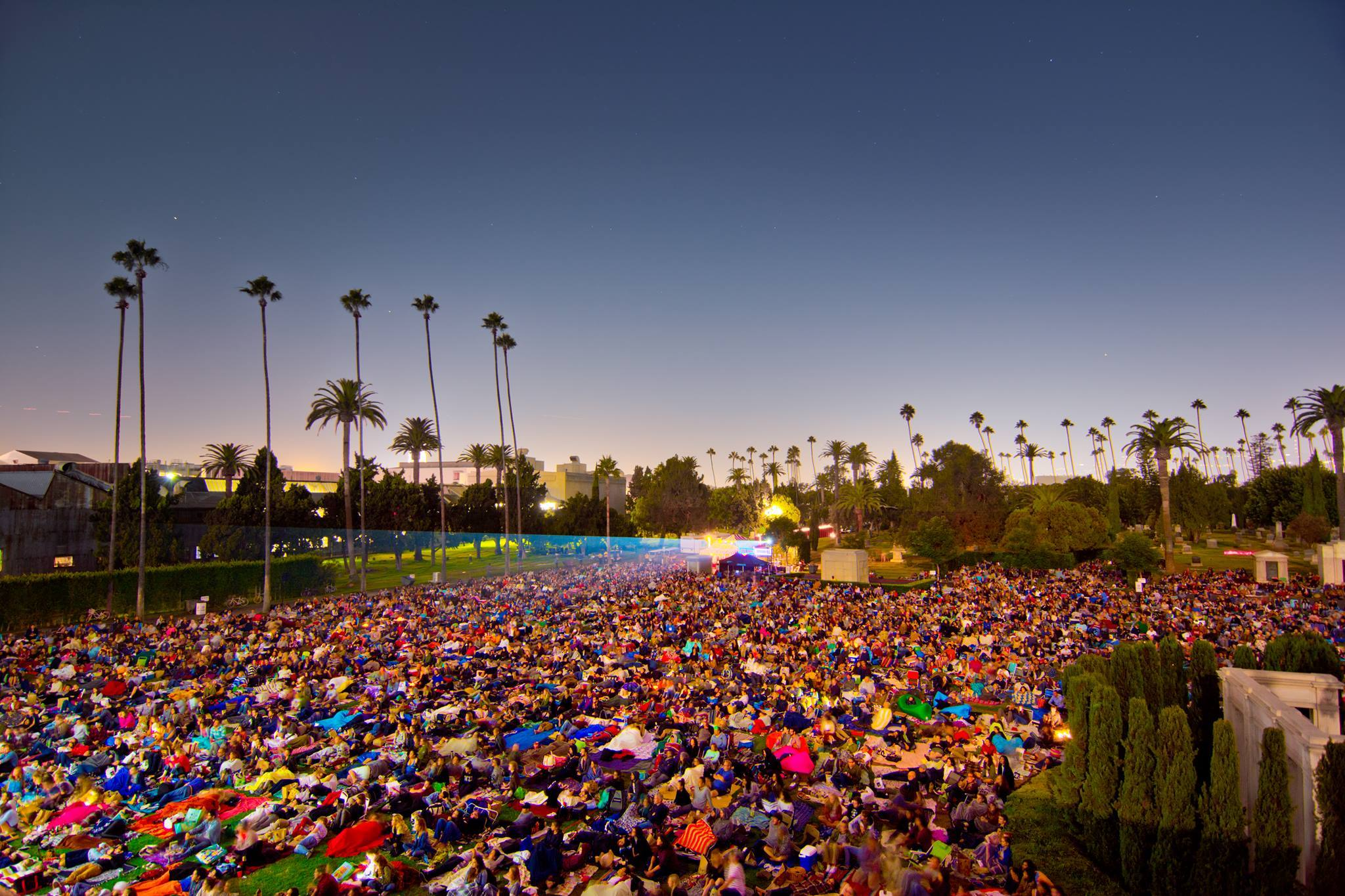 Cinespia at Hollywood Forever Cemetery | Photo: Cinespia, Facebook
