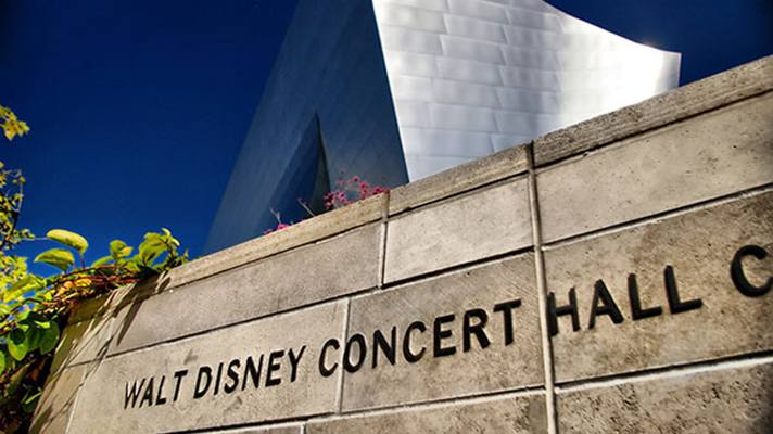 Disney Hall Sign