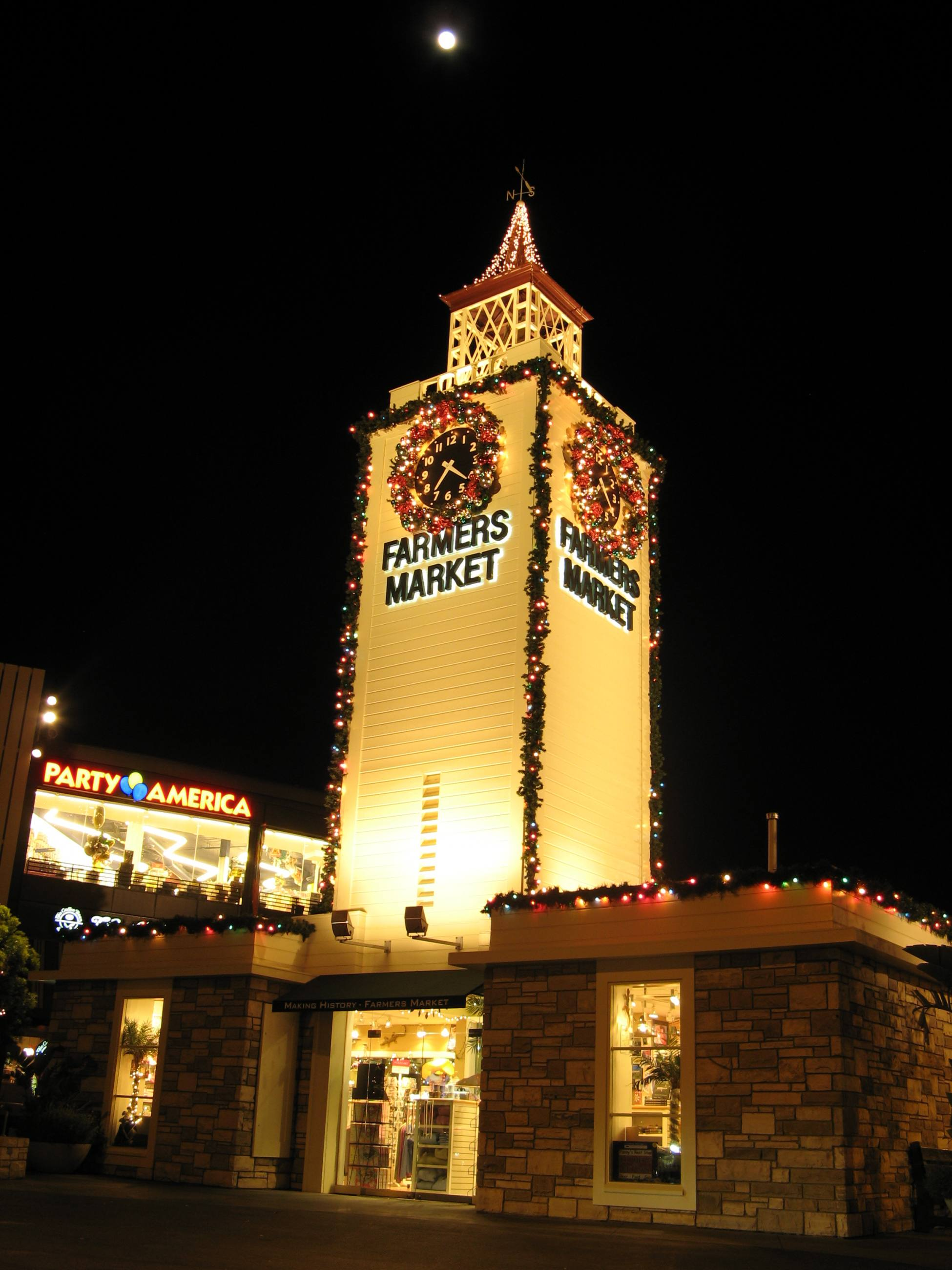 Farmers Market Tower Holiday