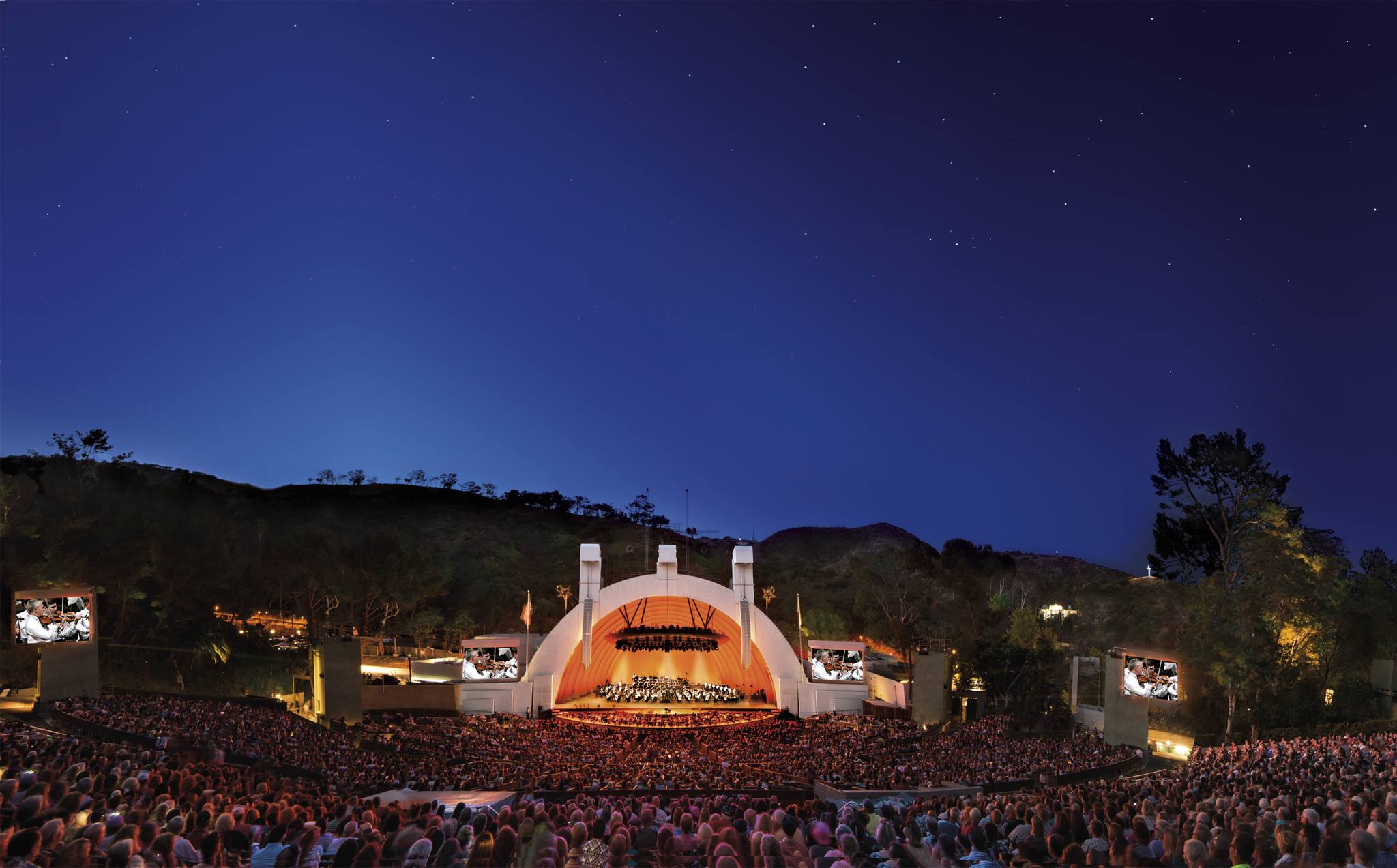 Hollywood Bowl at Twilight