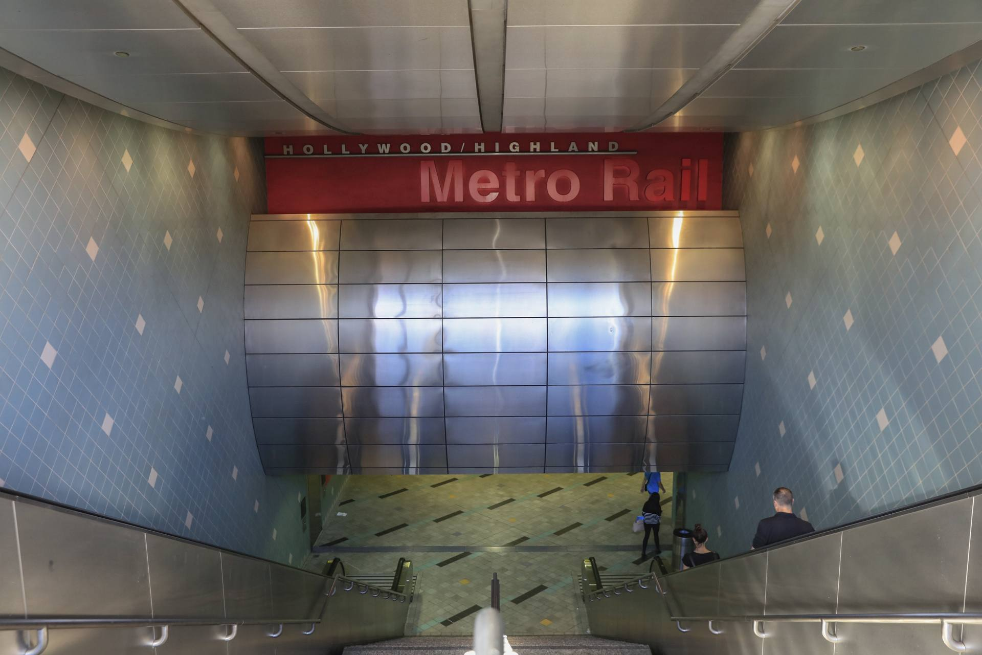 Metro Station at Hollywood and Highland