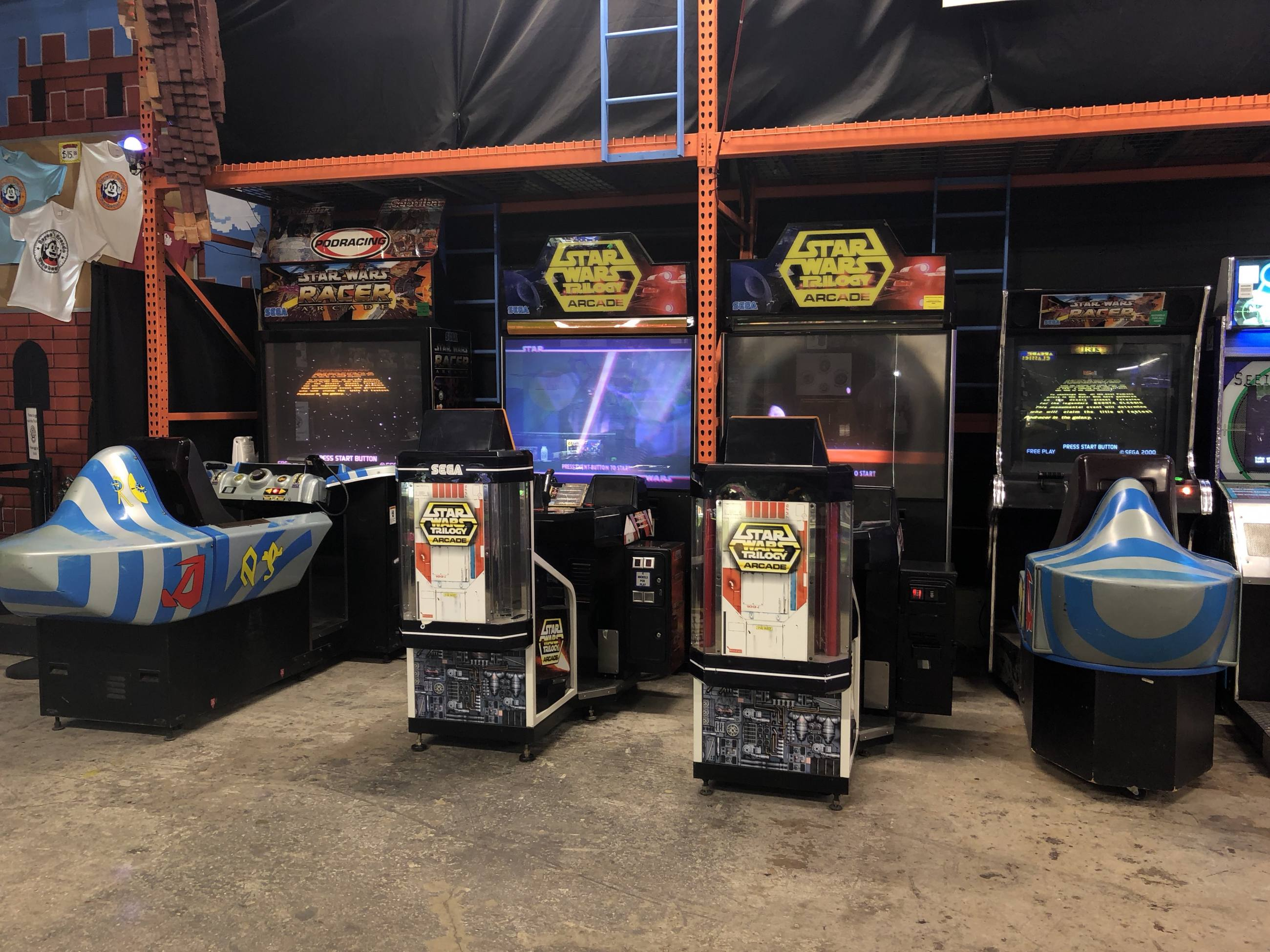Royce's Arcade Warehouse Star Wars