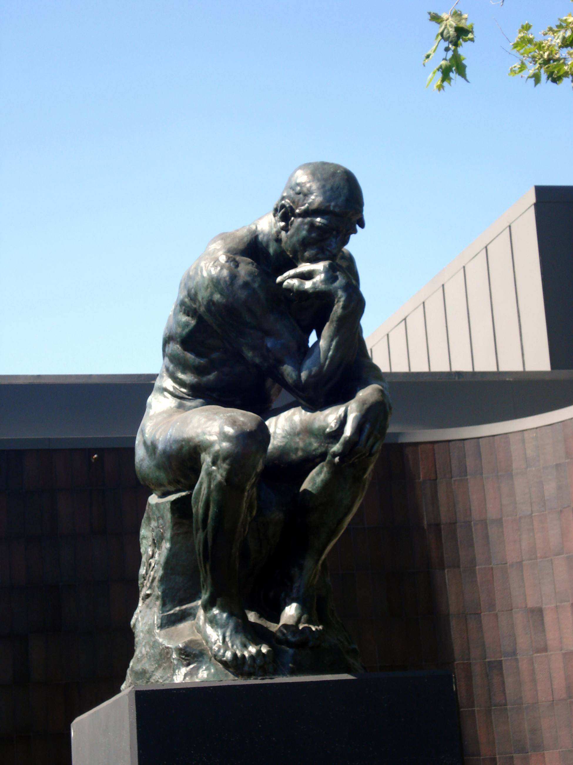 "Auguste Rodin, ""The Thinker"" (1880) at Norton Simon Museum | Photo: Wikipedia"