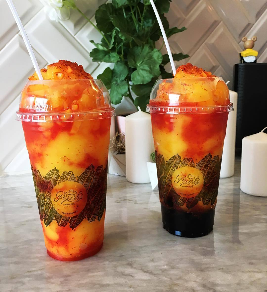 Chamango at Pearl's Finest Teas | Instagram by @pearlsfinestteas