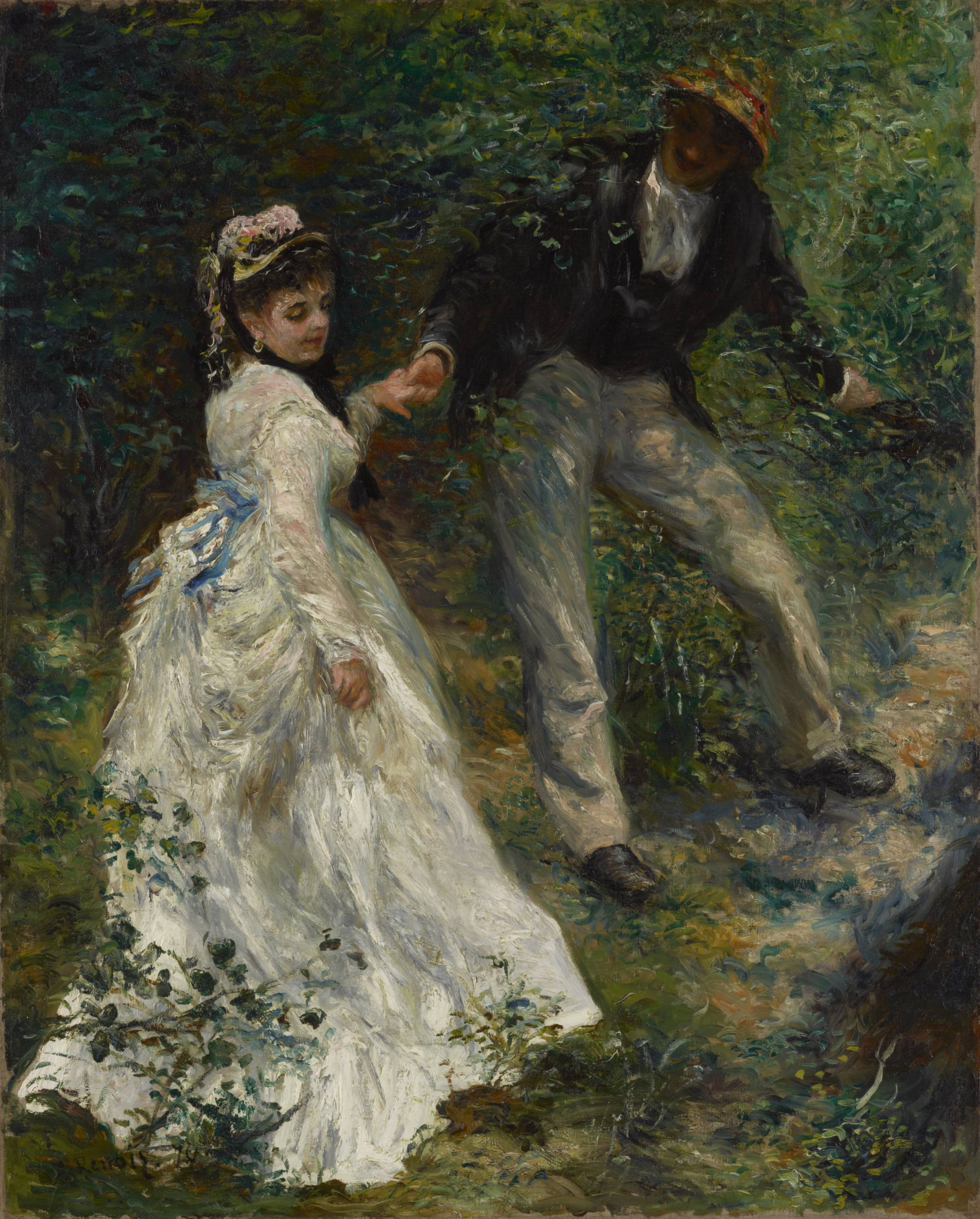 "Pierre-Auguste Renoir, ""La Promenade"" (1870) 