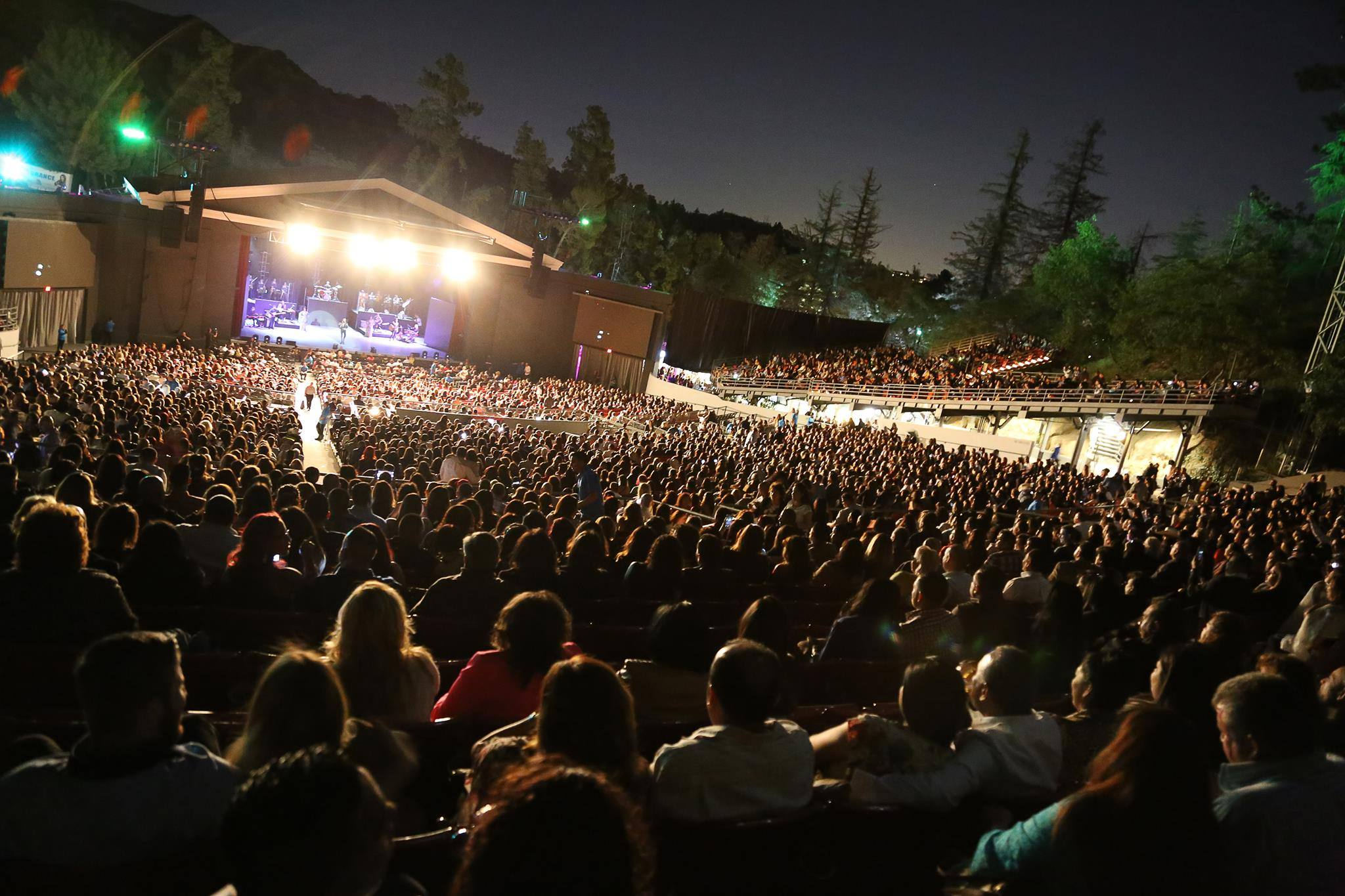 Concert at The Greek Theatre
