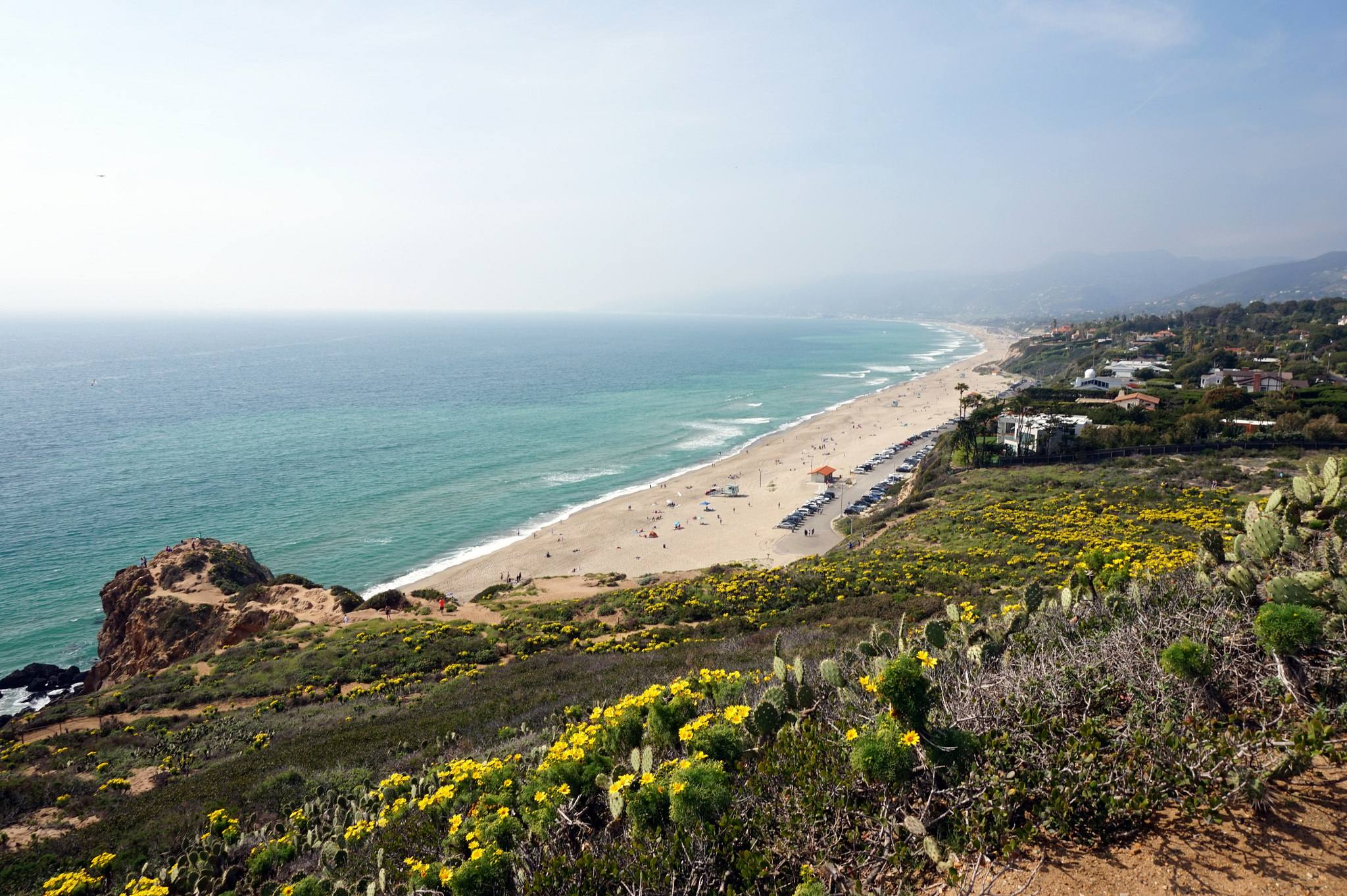 Westward Beach from Point Dume State Park