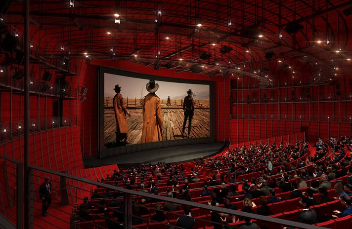 David Geffen Theater at the Academy Museum | ©Renzo Piano Building Workshop/©A.M.P.A.S.