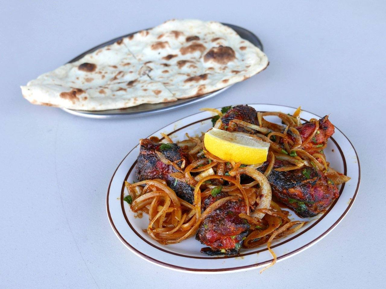 Tandoori hot wings at Royal Curry Cafe | Photo: Joshua Lurie