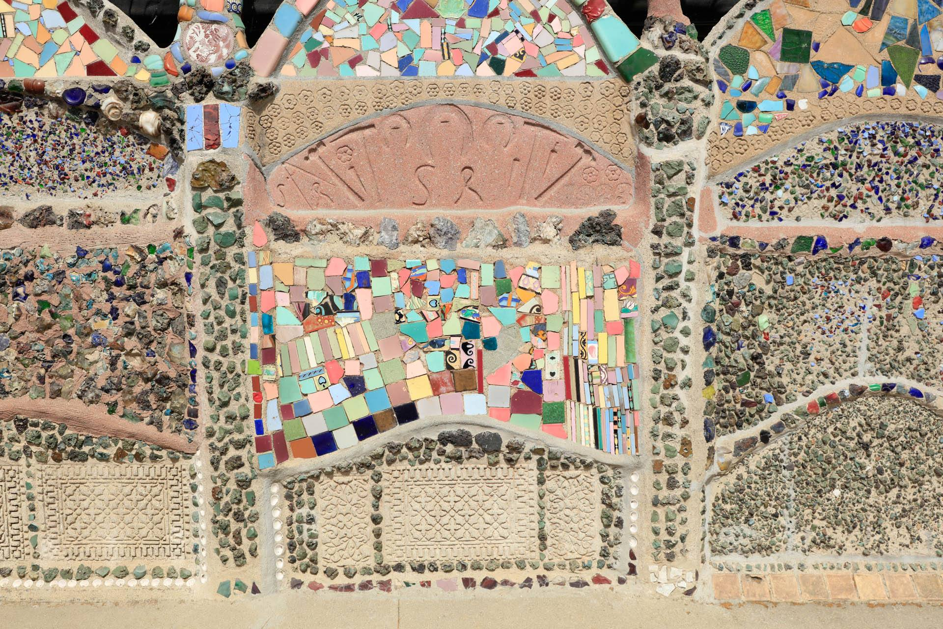 Watts Towers Tiles