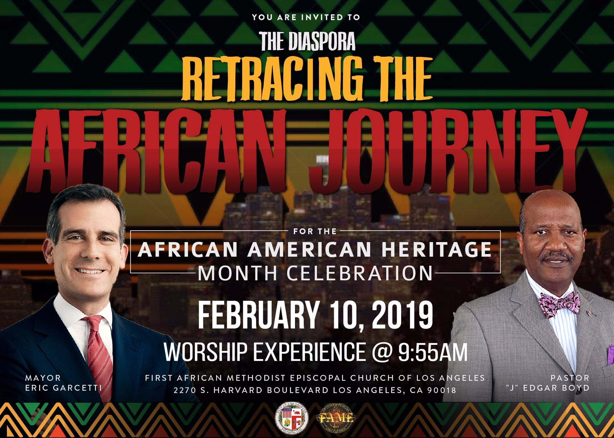 First AME Church Black History Month 2019