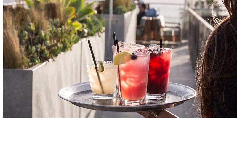 Hotel Erwin - High Rooftop Lounge Slider