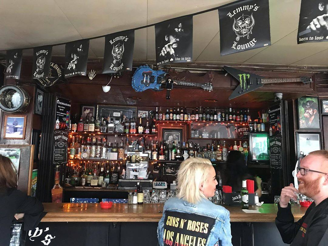 Lemmy's Lounge at Rainbow Bar & Grill on the Sunset Strip