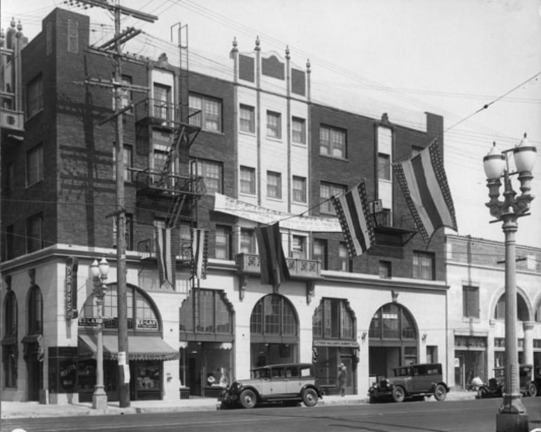 Dunbar Hotel Somerville Vintage