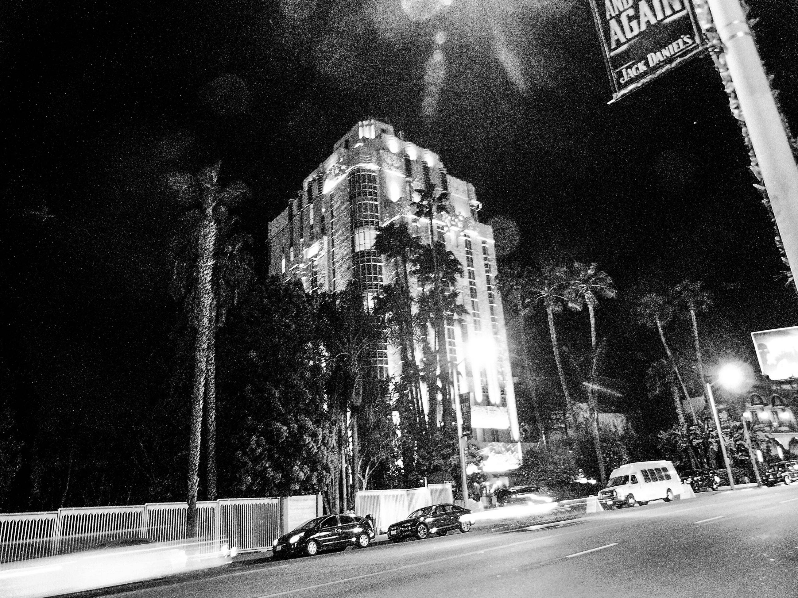 Sunset Tower Hotel on the Sunset Strip