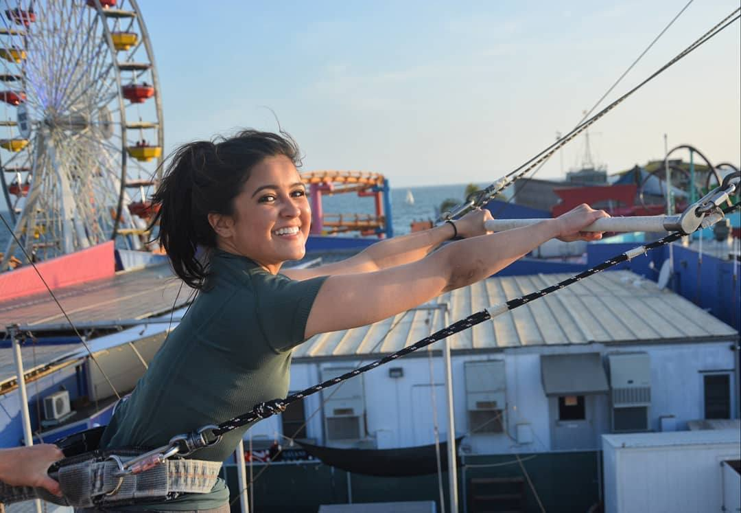 Flying trapeze lessons at TSNY Los Angeles