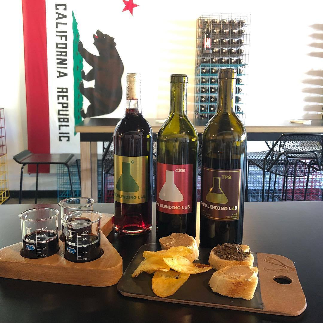 Wine and truffle pairing at The Blending Lab