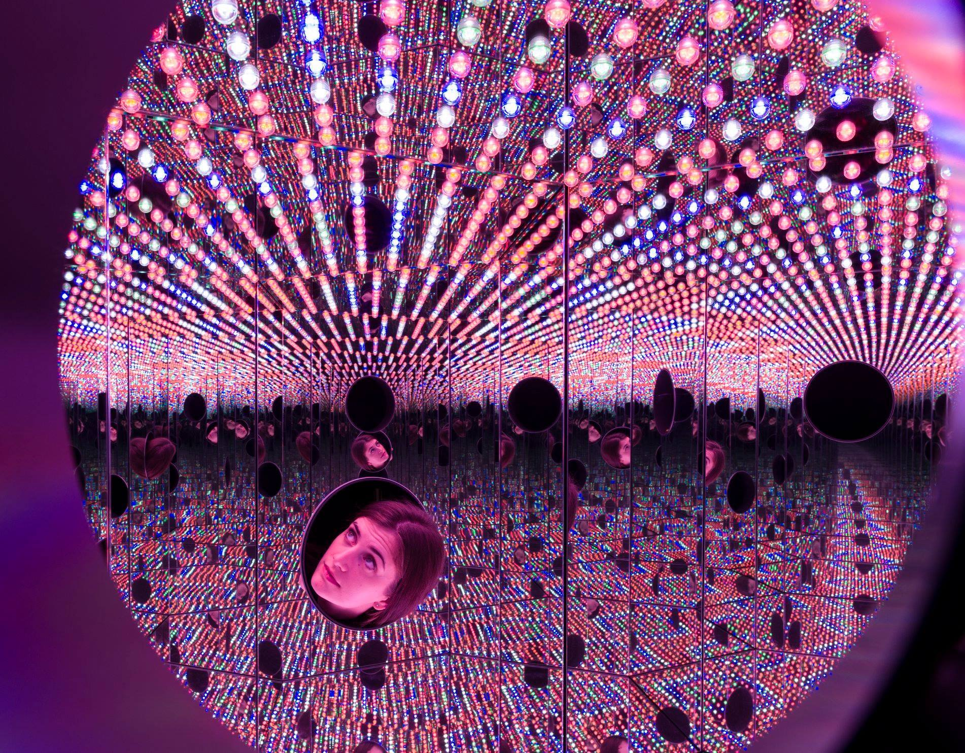 "Yayoi Kusama, ""Longing for Eternity"" The Broad"