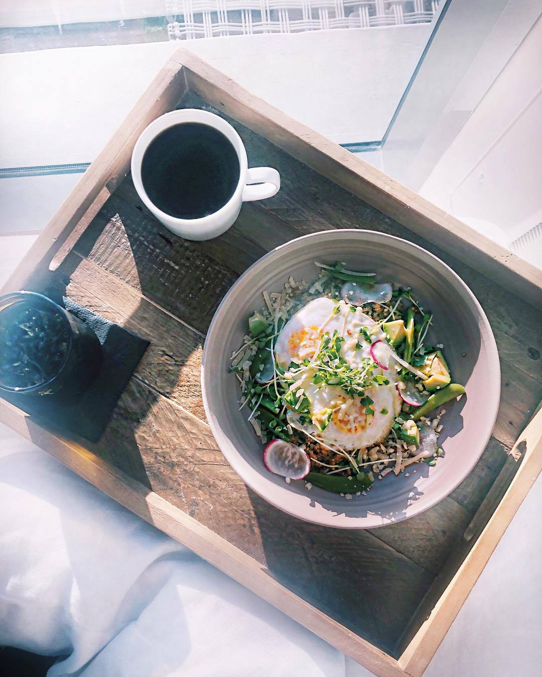 Eggs & Grains Bowl at The Jeremy Hotel