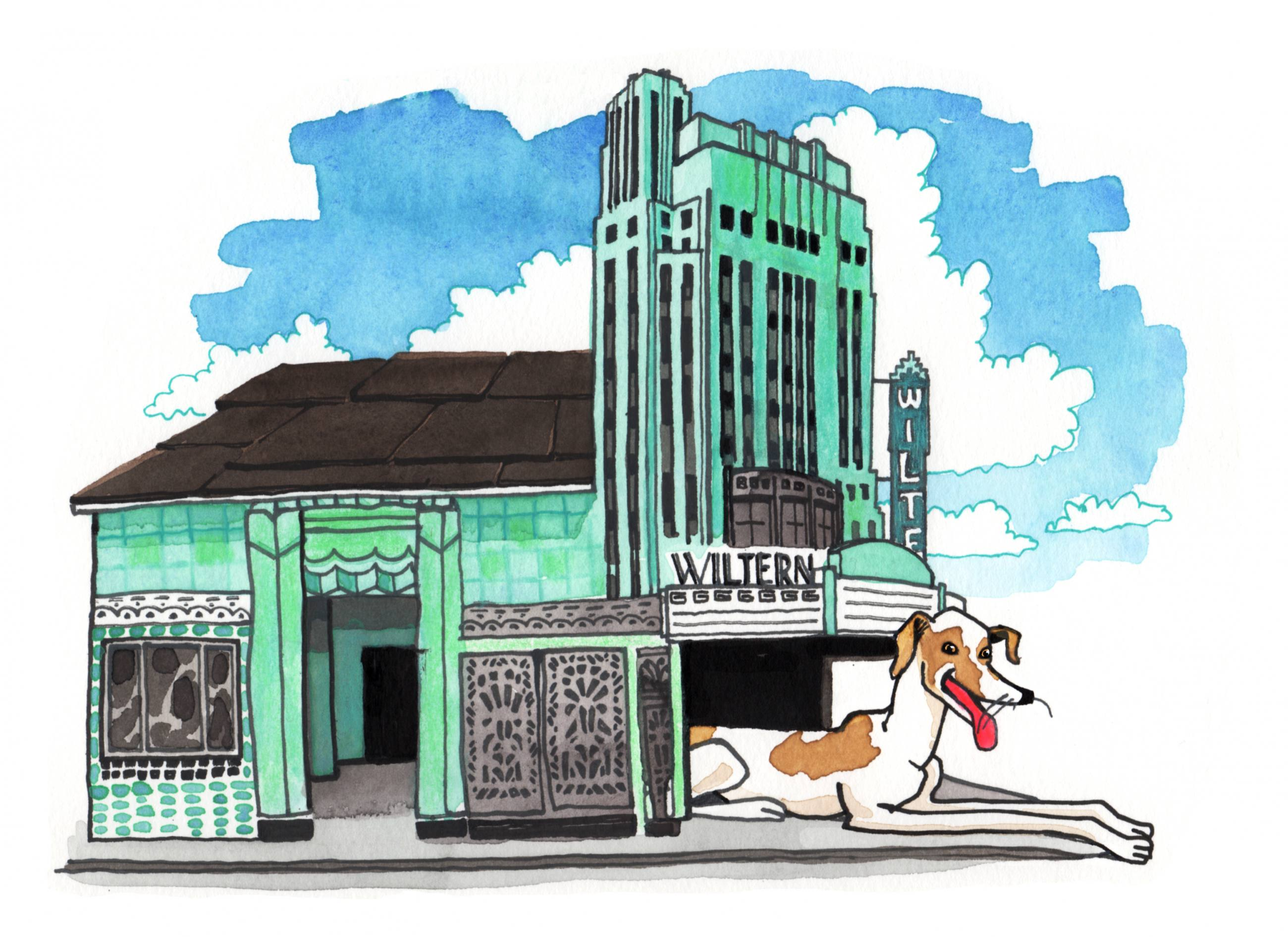 Greyhound at The Wiltern | Illustration by Max Kornell