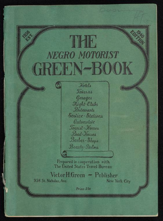 The Green Book Cover