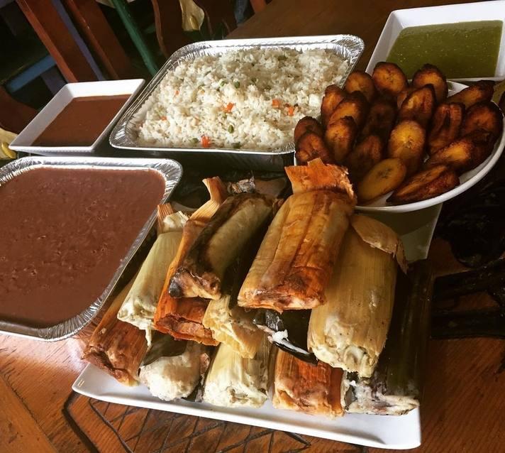 Mama's International Tamales Thanksgiving Package