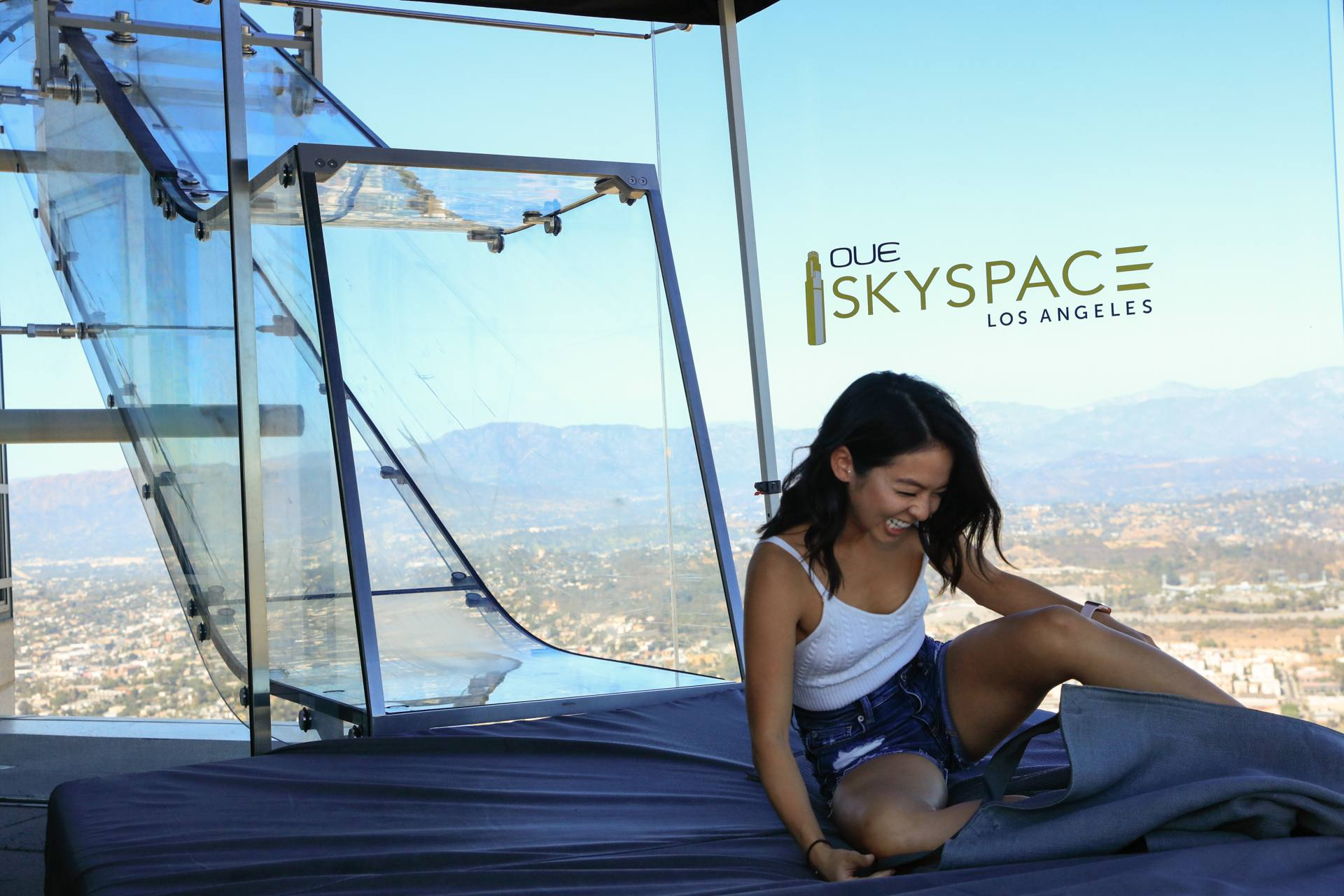 kySlide à OUE Skyspace   |  Photo: Yuri Hasegawa