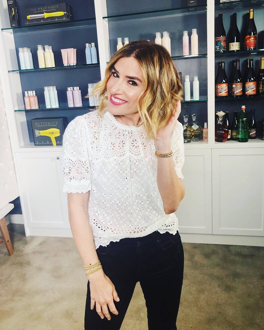 Alli Webb founder of Drybar