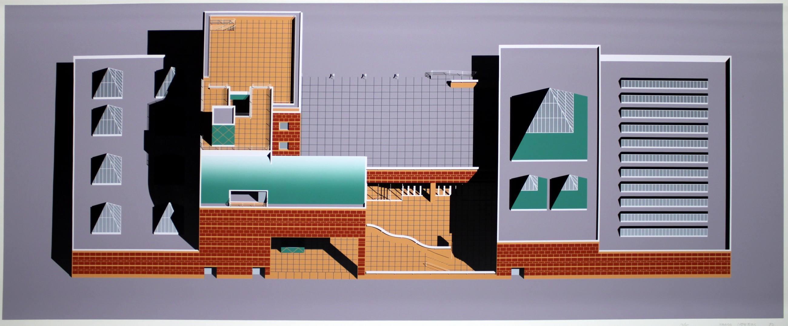 "Arata Isozaki, ""Overall axonometric (day),"" 1983"
