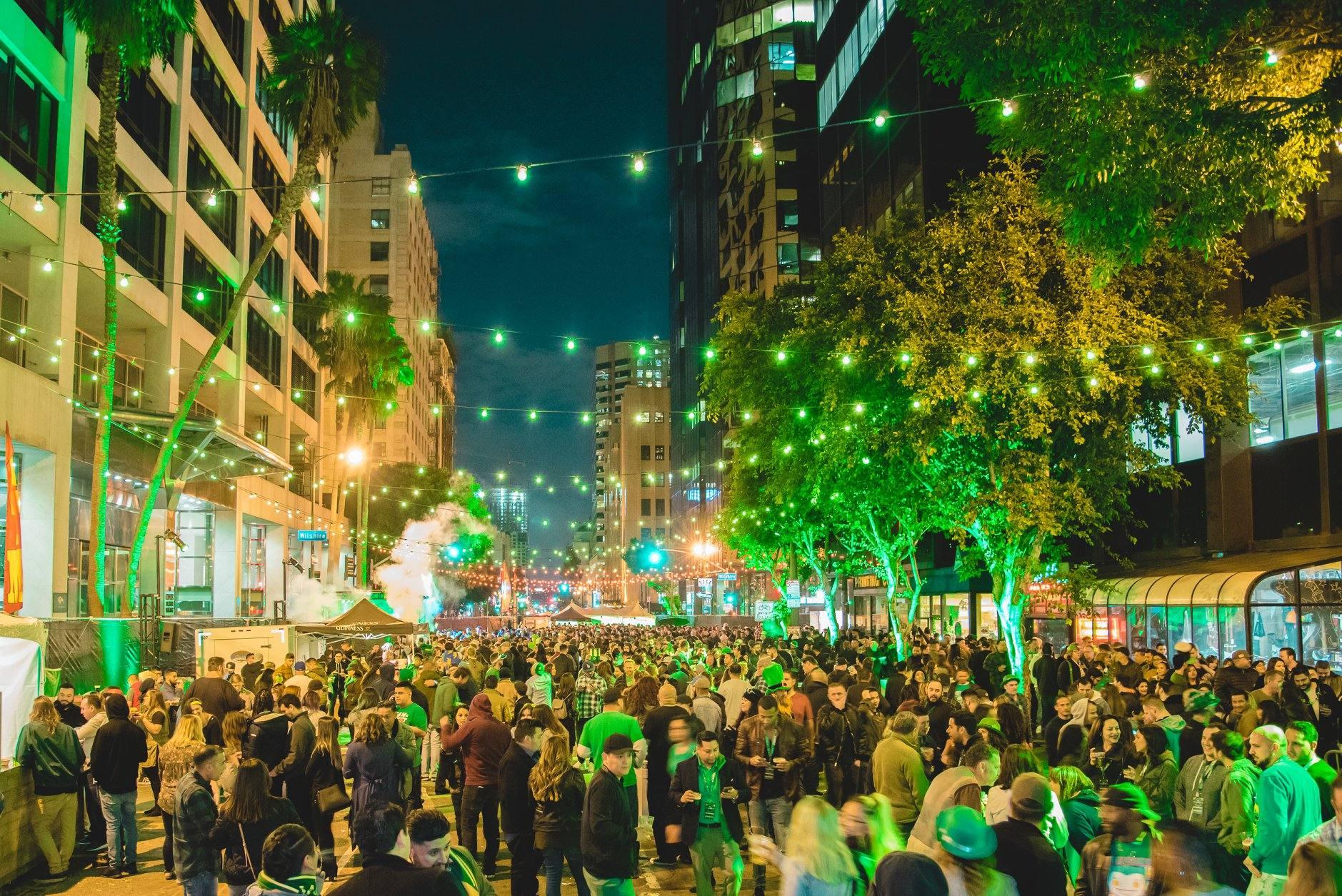 St. Patrick's Day Street Festival at Casey's Irish Pub