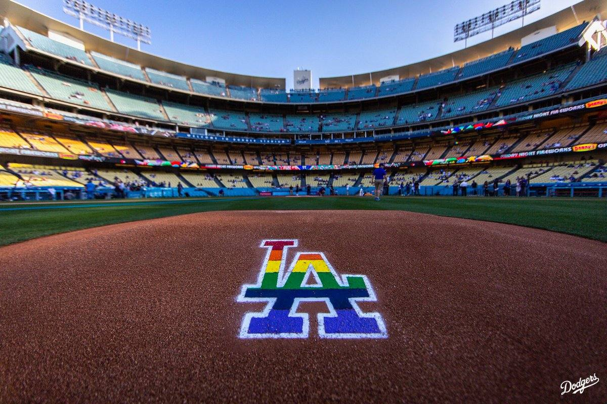 6th annual LGBT Night at Dodger Stadium, June 2018
