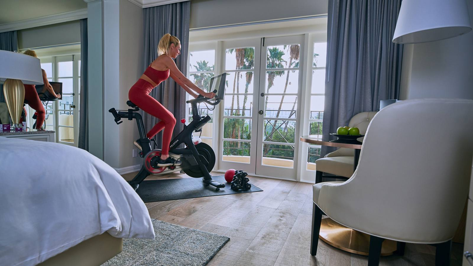 Four Seasons Beverly Hills Wellness Suite Exercise Bike
