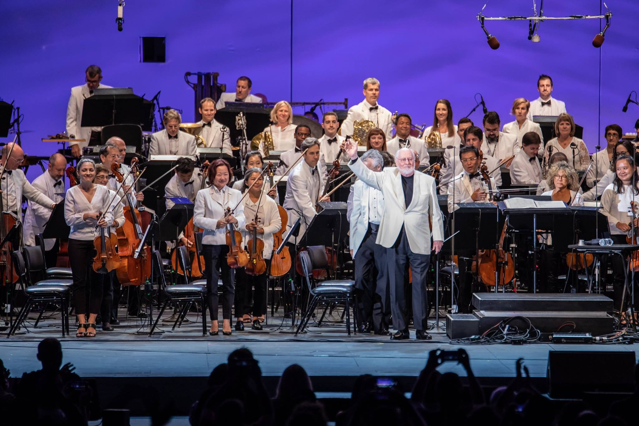 John Williams and the LA Phil at the Hollywood Bowl | Photo: Hollywood Bowl, Facebook