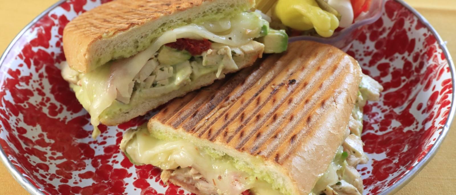 Panini Sandwich   |  Photo: Yuri Hasegawa