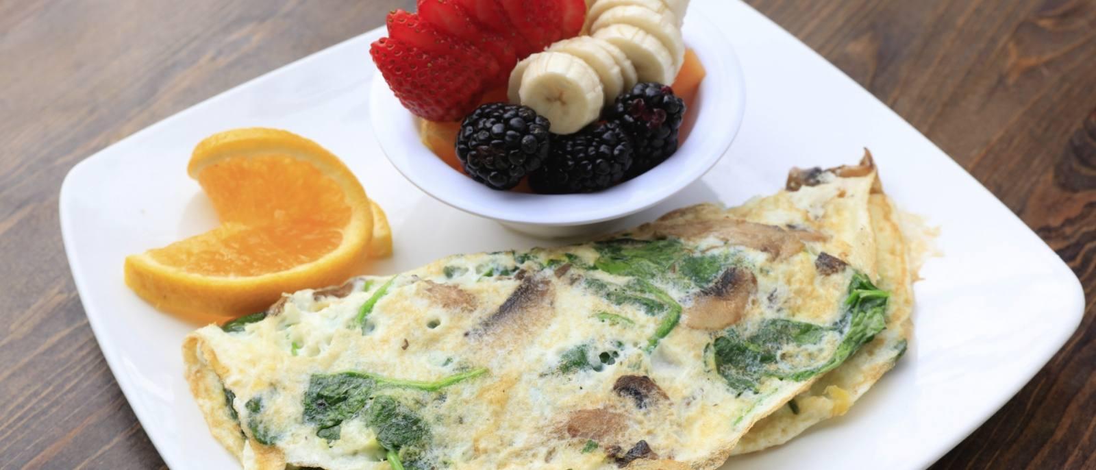 Breakfast Crepe at Jumpin' Java   |  Photo: Yuri Hasegawa