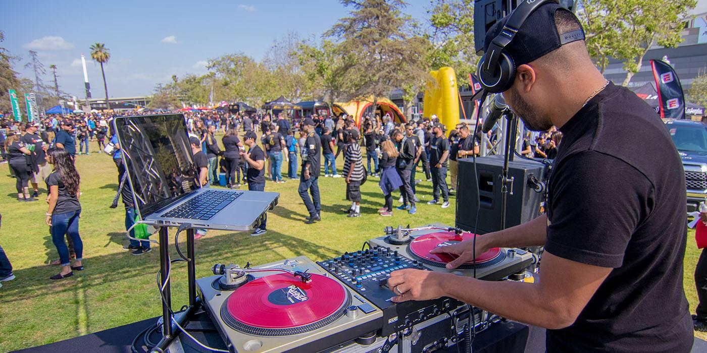 LAFC Fan Fest DJ