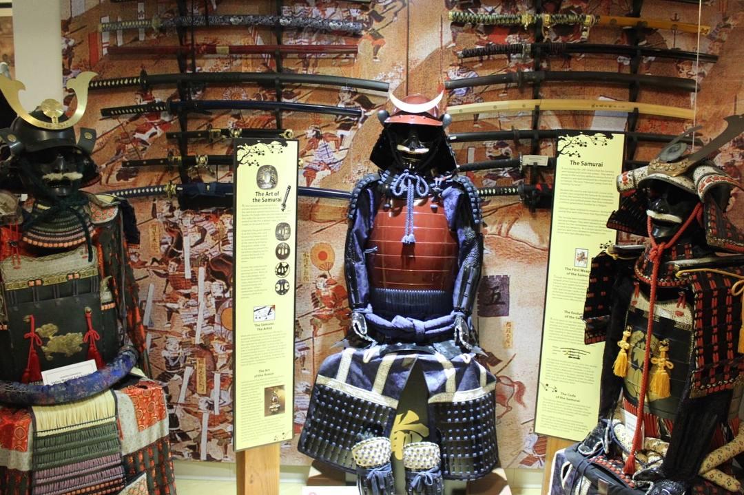 Samurai au Martial Arts History Museum