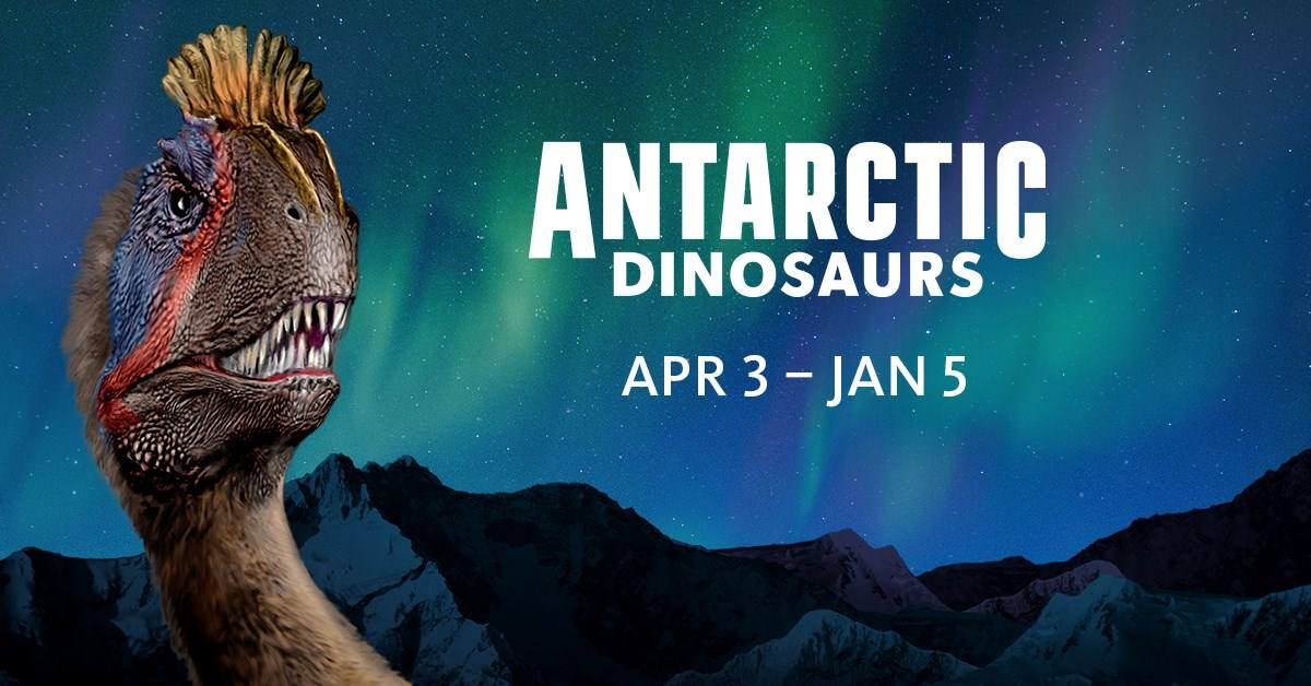 Antarctic Dinosaurs at the Natural History Museum