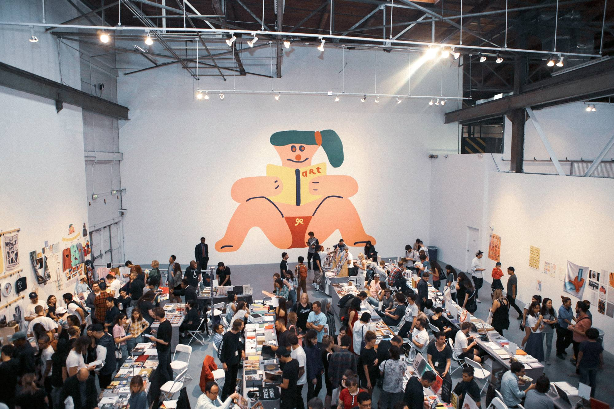 LA Art Book Fair at The Geffen Contemporary at MOCA