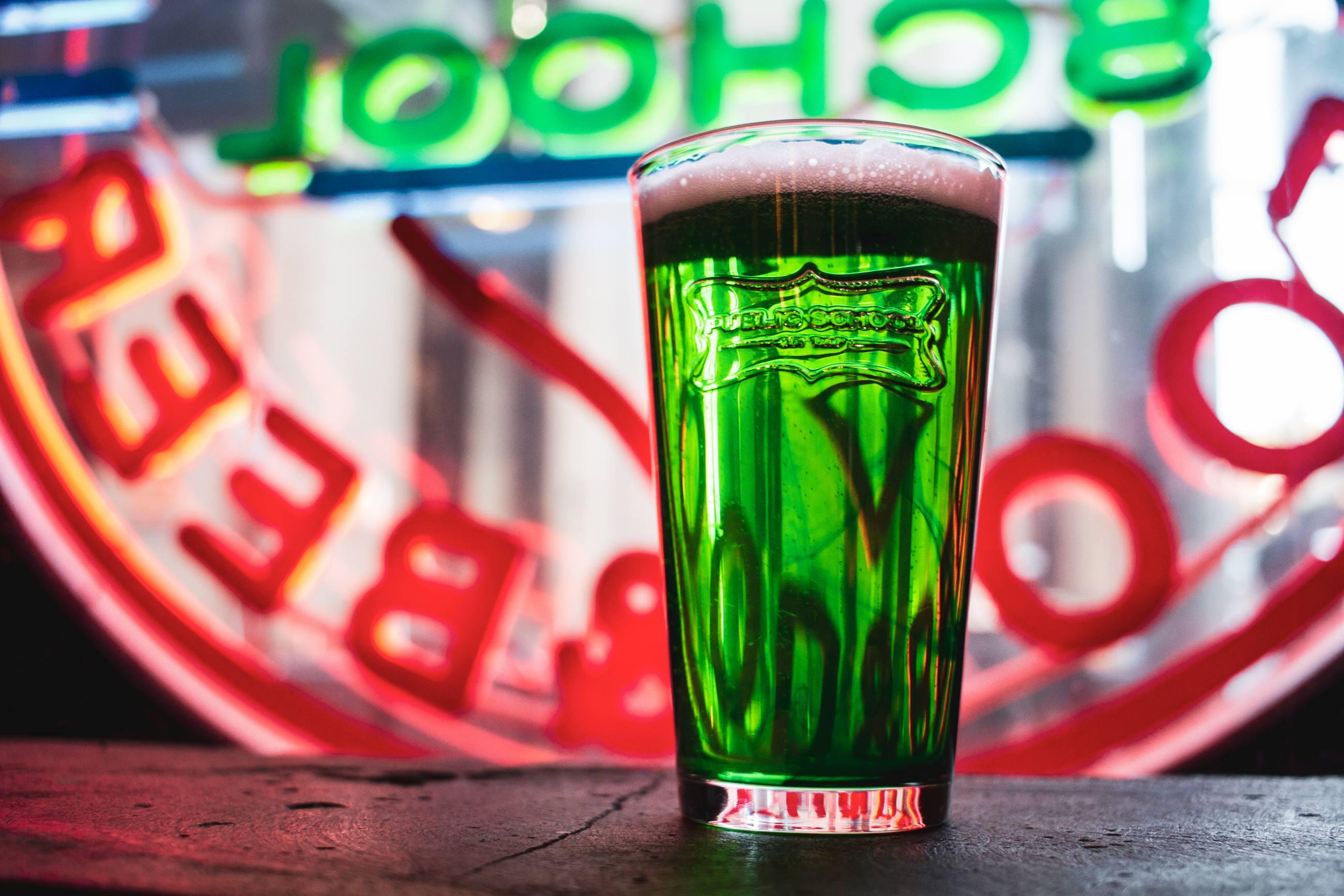Public School Green Beer